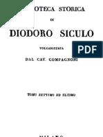 Diodoro Siculo - Biblioteca Storica Vol. 7