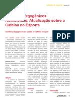 Atualizacao Sobre a Cafeina No Esporte - Versao Final