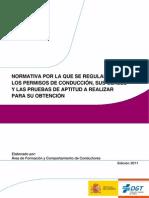 Normativa Reguladora Pruebas 1º evaluacion temario entero