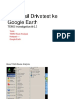 Export TEMS ke Google Earth TEMS Investigation 8 [Compatibility Mode].pdf