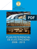 Plan Referencial de Electricidad 2006-2015
