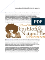 Fashion as a Means of Social Identification in Mexico and the World