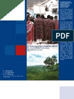El derecho de la consulta previa de los pueblos indígena en América Latina