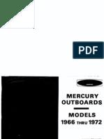 Mercury Manual All 1962-1972