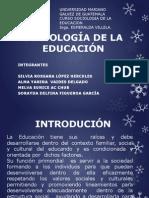 SOCIOLOGÍA DE LA EDUCACIÓN DIAPOSITIVAS