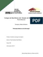 Principios Basicos de La Ecologia