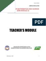 Ems 2 Teacher's Module Etems 2009