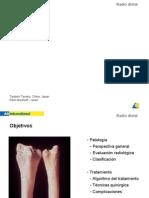 Fractura de radio imagenes radiologicas