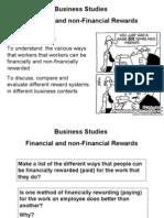 Financial and Non-financial Rewards