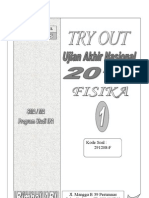Soal 1 Try Out Fisika Sma 2013