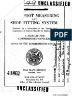 Shoe Fitting Manual for Commissioned Officers, 1918