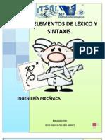 Elementos de Lexico y Sintaxis