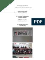 Informe de Icadep Tijuana