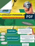 Landasan Sosiologis Dan Antropologis Pendidikann