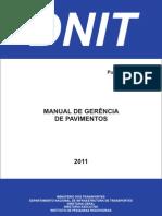 Manual Gerencia Pavimentos 745 Brasil 2001