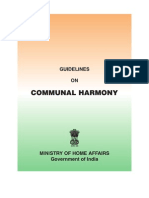 Guidelines on Communal Hormony
