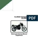 KLR650 Kawasaki KLR500