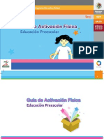 Guía de actvacion peescolar SEP