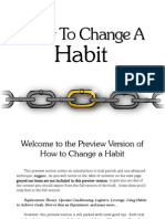 Change Habit Preview