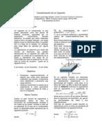 Caracterización de un Capacitor