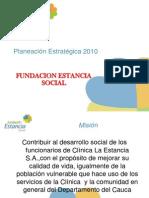 Fundación Estancia Social - Planeación Estratégica 2010