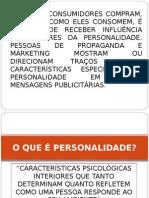 apresentação personalidade e comportamento do consumidor MKT 1