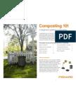 composting 101 booklet print