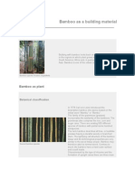Intro to bamboo and bamboo building