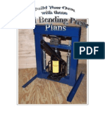 metal steel bending press plans
