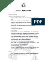 Syarat Visa Jerman