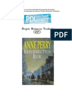 Anne Perry - Série Pitt 04 - O Beco dos Ressucitados