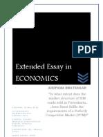 Extended Essay - Anupama Bhatnagar
