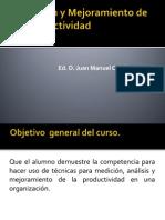 Medición y Mejoramiento de la Productividad  unidad 1