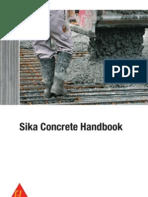 Sika Concrete Handbook 2012 | Construction Aggregate | Concrete