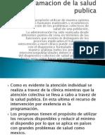 Miguel Peralta Programacion de La Salud Publica