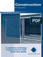 ASI Journal - Volume 46 - A Method for Estimating in-plane Forces on Roller Shutter Door Guides