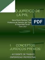 Ambito Jurídico de la PRL