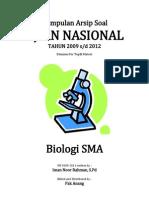 Kumpulan Arsip Soal UN Biologi SMA Tahun 2009-2012