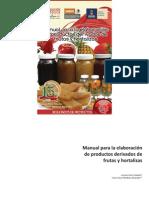Manual Derivados Frutas Hortalizas