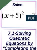 7.1-CompletingtheSquare