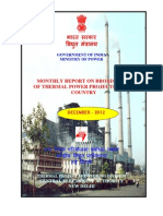 Broad Status Power Projects CEA Dec 2012