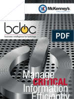 bdoc® - Business Intelligence for Buildings