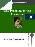 Practice the Presence