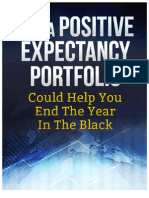Positive Expectancy Portfolio