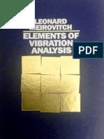 Elements of Vibration Analysis