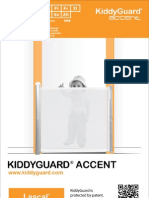 Lascal KiddyGuard Accent Manual 2012 (Chinese)