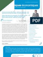 Dynamiques économiques - Janvier 2013