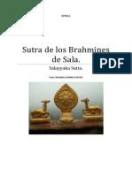 Sutta Salayyaka (Los Brahmines de Sala)