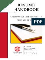 Resume Handbook Final