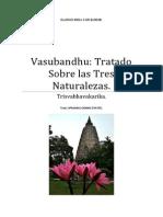 Vasubandhu Tratado Sobre Las Tres Naturalezas